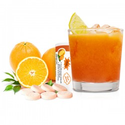 Orange Effervescent Tablets 100mg.